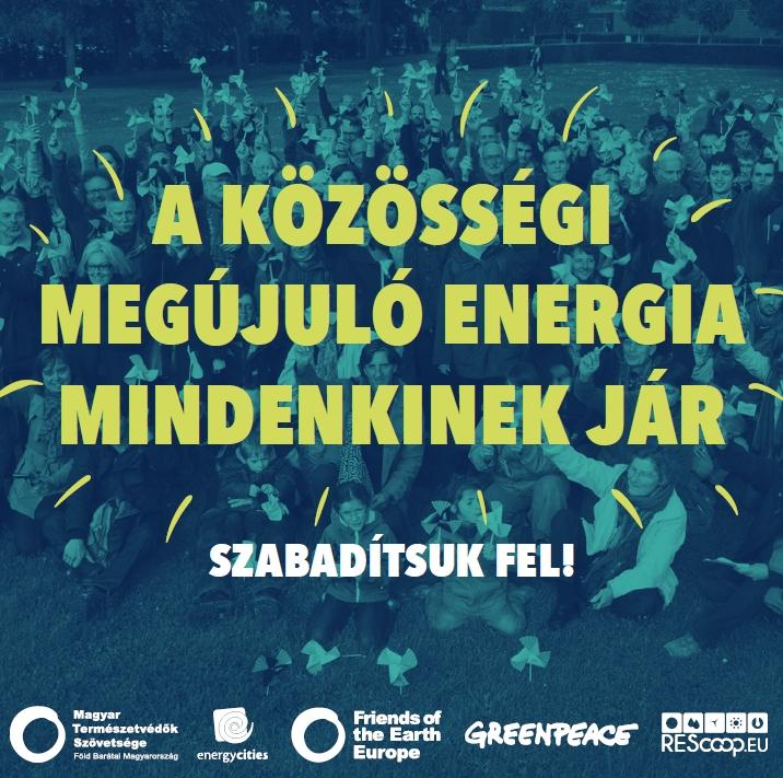 A közösségi megújuló energia mindenkinek jár