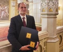 Dr. Farkas István Tamás Pro Natura díjat kapott