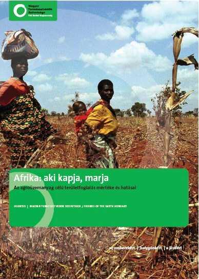 Afrika: aki kapja, marja