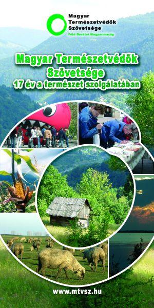 Magyar Természetvédők Szövetsége - bemutatkozó szórólap 2006