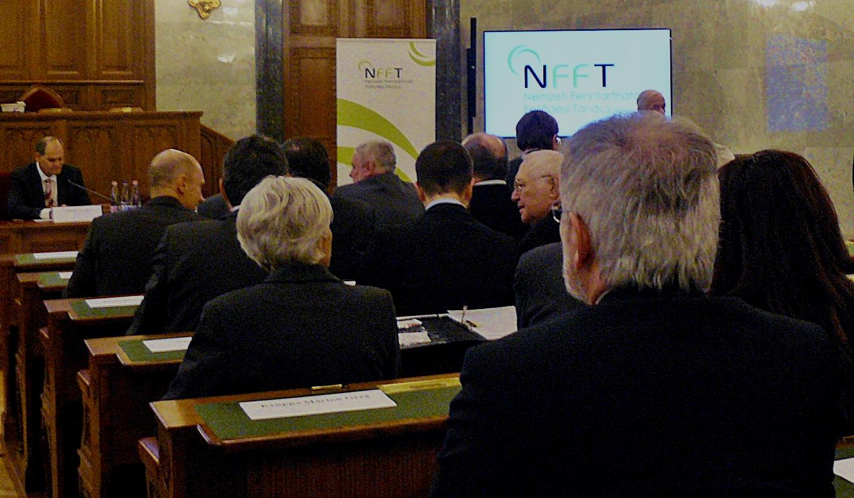 Jubileumi ülésen ünnepelt a 10 éves NFFT