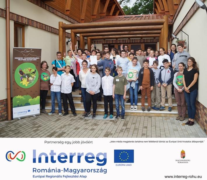 A diákok a mogyorós pele nyomába eredtek a Magyar Természet Napján